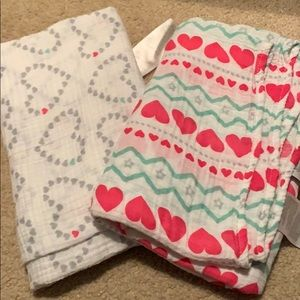 Aden & Anais Muslin Swaddle Blankets, Set of 2